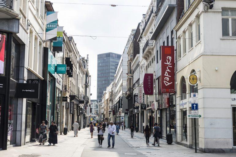 La Rue Neuve, le paradis du shopping.