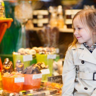 Le shopping avec les enfants et pour les enfants
